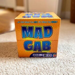 Mattel Mad Gab Adult Party Game 2 to 12 Players